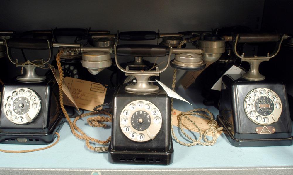 Telefone aus der Sammlung der MSPT