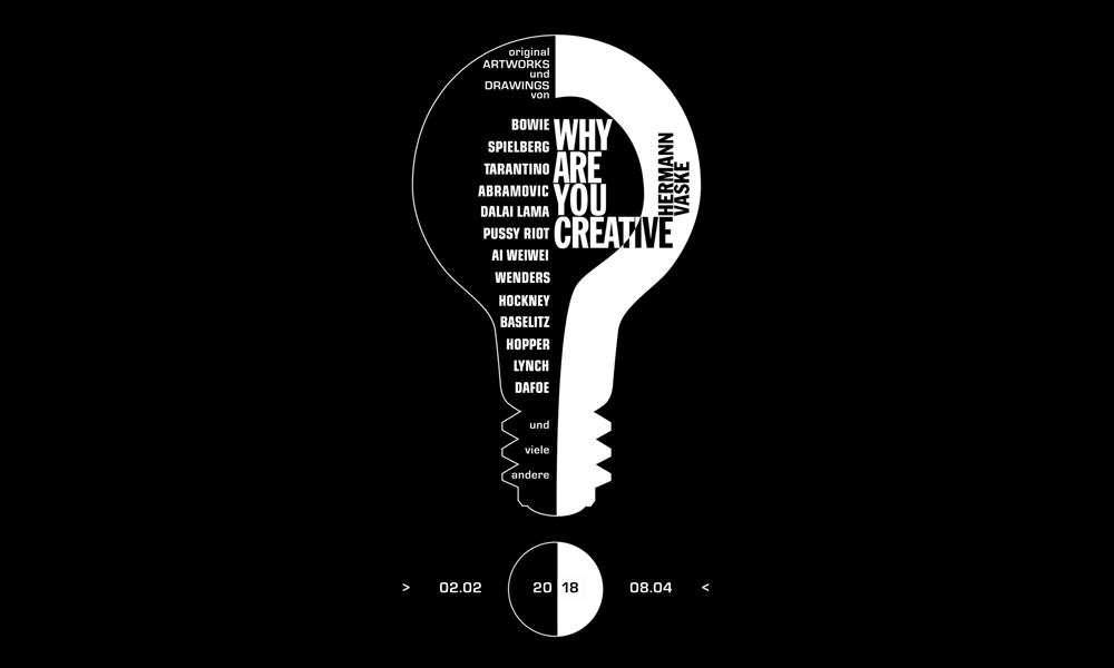 Museum für Kommunikation Berlin – Ausstellung - Why are you creative? 1998 – 2018 – Key Visual